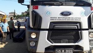 Manisa Büyükşehir Belediyesinden, Akçakoca Belediyesine Destek