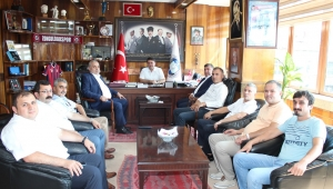 Türk Metal Sendikası'ndan, GMİS'e ziyaret