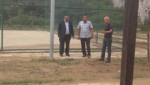 Yanmaz 15 Temmuz Demokrasi Şehitleri Parkında İncelemelerde Bulundu