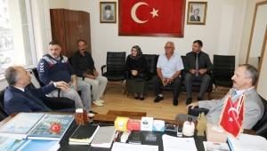 Başkan Metin, Şehit Aileleri Derneği'ni ziyaret etti