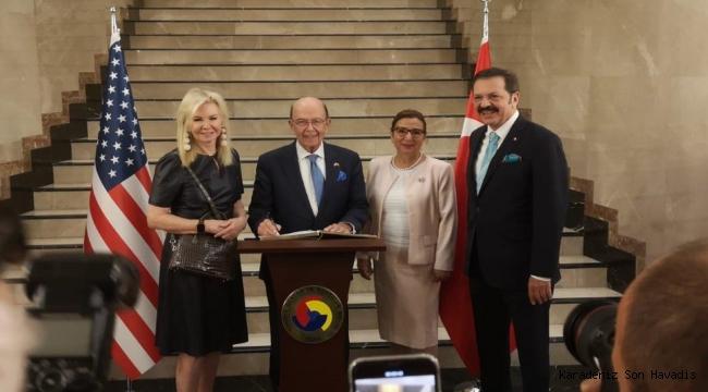 Kayseri OSB, Türkiye - ABD iş çalışma yemeğine katıldı