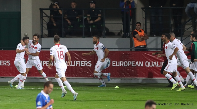 MOLDOVA 0-4 TÜRKİYE