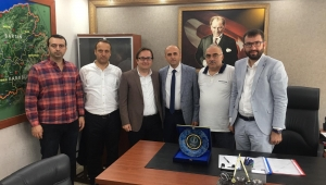 MÜSİAD'dan, müdür yardımcısı Pınar'a ziyaret