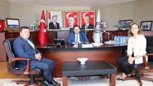 Rektör Çakar'dan Başkan Yanmaz'a Ziyaret