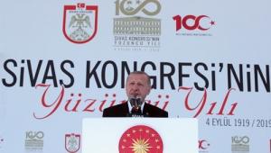 """""""Sivas Kongresi kararları, milletimizin en zor zamanlarında bütün dünyaya haykırdığı bir bağımsızlık manifestosudur"""""""