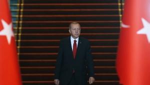 Cumhurbaşkanı Erdoğan, Cumhurbaşkanlığı Külliyesinde tebrikleri kabul etti
