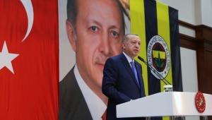 Cumhurbaşkanı Erdoğan, Fenerbahçe Yüksek Divan Kurulu Toplantısına katıldı.