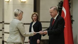 Cumhurbaşkanı Erdoğan, İrlanda'nın Ankara Büyükelçisi Mcguıness'i kabul etti