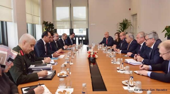 Cumhurbaşkanlığı Sözcüsü Kalın, Rusya Federasyonu Suriye Özel Temsilcisi Lavrentyev ve beraberindeki heyeti kabul etti