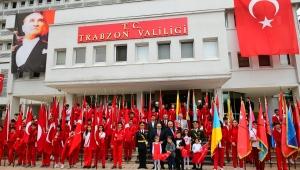 Cumhuriyet'in Kuruluşunun 96. Yıl Dönümü Trabzon'da Çeşitli Etkinliklerle Kutlandı