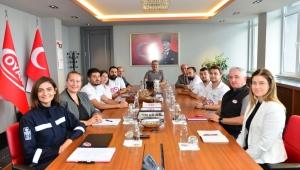 Dünya ikincisi Grizu-263'ten Erdemir'e teşekkür ziyareti