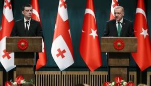 """""""Karadeniz'de barış ve istikrarın sürdürülmesi için çabalarımız Gürcistan'ın da katkılarıyla devam ediyor"""""""