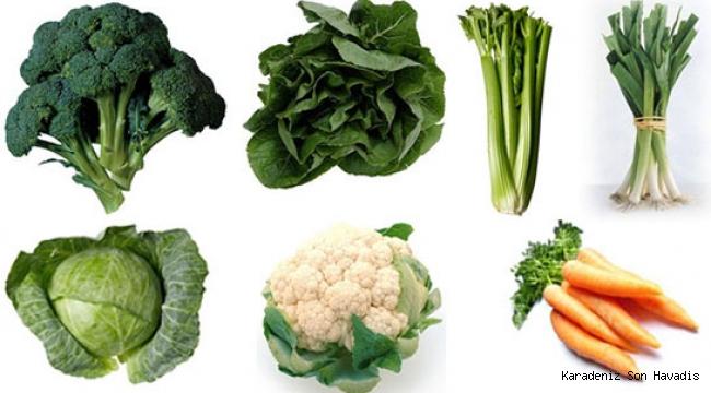 Kış sebzelerini mevsiminde tüketin