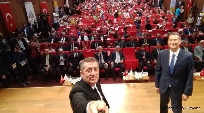 Milli Eğitim Bakanı Ziya Selçuk,