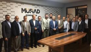 VALİ BEKTAŞ, MÜSİAD ÜYELERİ İLE 'DOST MECLİSİ'NDE BULUŞTU