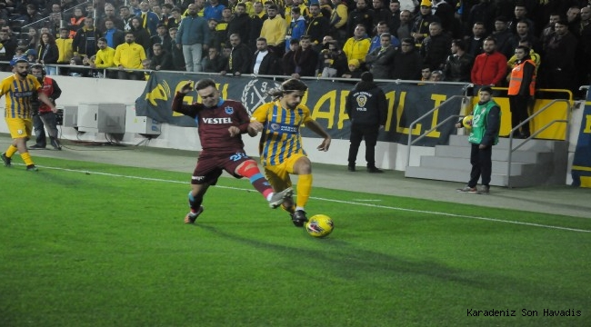 Ankaragücü 0 Trabzonspor 3