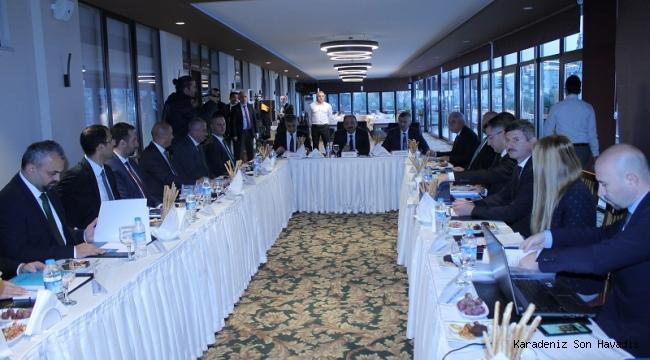 BAKKA Kasım Ayı Yönetim Kurulu Toplantısı Zonguldak'ta Yapıldı