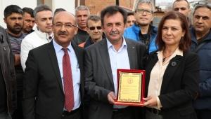 Başkan Köse'den Burhan Esirgen'e Teşekkür
