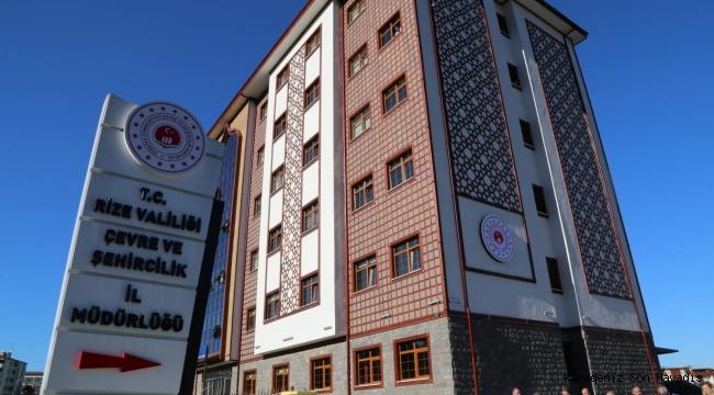 Çevre ve Şehircilik İl Müdürlüğü çağdaş hizmet binasına kavuştu