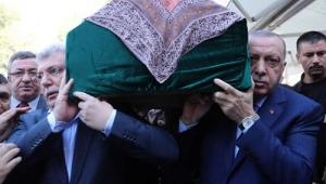 Cumhurbaşkanı Erdoğan, Nevin Akbaşoğlu'nun cenaze törenine katıldı