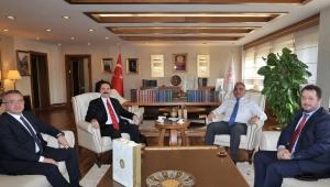 DGSKON Başkanı Aygündüz'den Bakanlık ziyareti