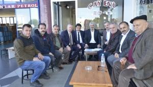 Dr. Adnan Günnar Esnaf Ziyareti Gerçekleştirdi.