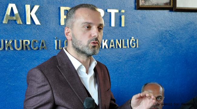 Erkan Kandemir, Çukurca ilçesinde AK Parti ilçe başkanlığını ziyaret etti.