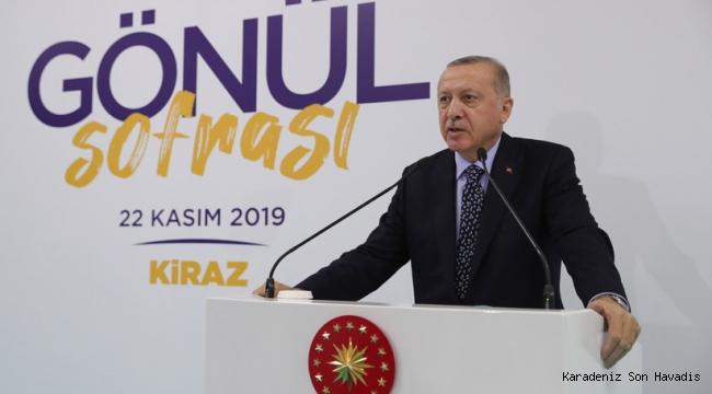 """""""Gelecek kuşaklara daha özgür ve çok daha güçlü bir Türkiye bırakmanın mücadelesini veriyoruz"""""""