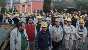 GMİS Armutçuk'ta madenciyi ziyaret etti