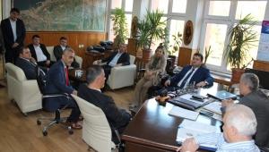 GMİS Yönetimi Kozlu'da madenciyi ziyaret etti
