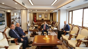 İspir Kaymakamı ve İspir Belediye Başkanından Vali Çeber'e Ziyaret