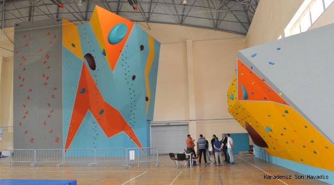 Spor Tırmanış Türkiye Şampiyonası, Trabzon'da yapıldı