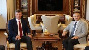 TBB Başkanı'ndan, Vali Çeber'e ziyaret