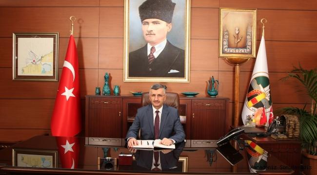 """Vali Bektaş'ın """"10 Kasım Atatürk'ü Anma Günü"""" Mesajı"""