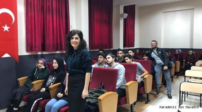 Zonguldak İşkur Okul Seminerlerine Devam Ediyor
