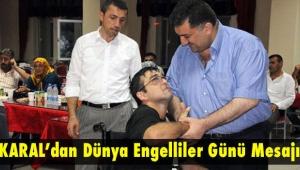 AK Parti 24. 25. ve 26. dönem Rize Milletvekili Hasan KARAL'ın 3 Aralık Dünya Engelliler Günü Mesajı