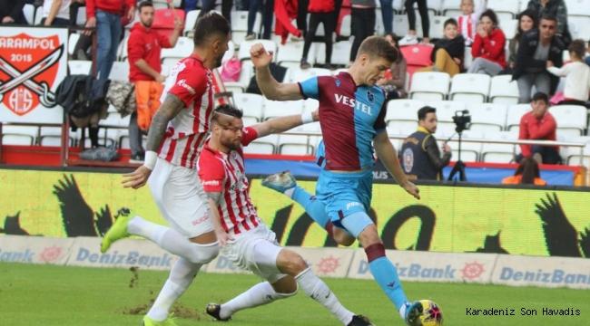 Antalyaspor 1- 3 Trabzonspor