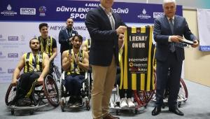 Dünya Engelliler Günü'nde Spor Şöleni