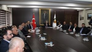 Ekonomi Toplantısı Vali Erdoğan Bektaş Başkanlığında Yapıldı
