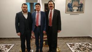 Genel Başkan Aygündüz'den Rusya Büyükelçiliğine ziyaret