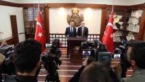 İçişleri Bakan Yardımcısı Erdil, Basın Mensuplarının Sorularını Cevapladı