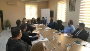 Kdz. Ereğli Organize Sanayi Bölgesi Müdürlüğü'nde Hedeflere İlişkin Değerlendirme Toplantısı Yapıldı.