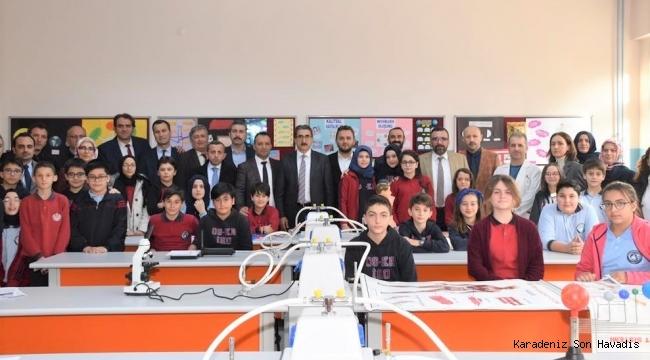Laboratuvar ve teknoloji sınıfı hizmete açıldı