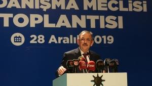 Mehmet Özhaseki, AK Parti Kayseri İl Danışma Meclisi Toplantısı'nda konuştu.