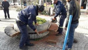 Park ve Bahçelerde Bakım-Onarım Çalışmalarına Hız Verildi