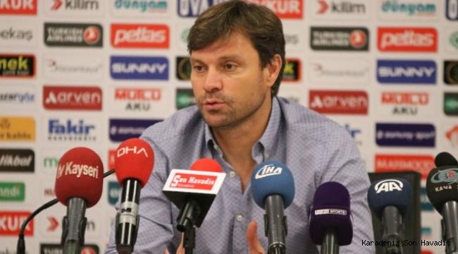Samsunspor Teknik DirektörüErtuğrul Sağlam, 3-0 kazandıkları Sarıyer maçını değerlendirdi.