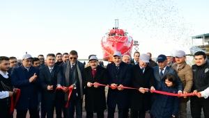 Sürmene'den Fas'a İhraç Edilen Balıkçı Gemisi Törenle Denize İndirildi