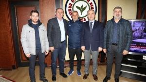 Teknik Direktör İsmail Kartal; Rize Belediye Başkanı Rahmi Metin'i Ziyaret Etti