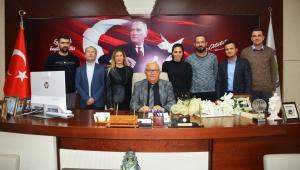Teknikerler Derneği'nden Başkan Posbıyık'a teşekkür…