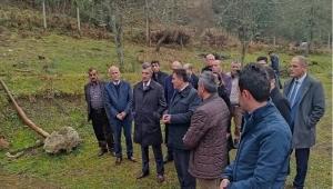 Vali Erdoğan Bektaş Devrek'de incelemelerde bulundu